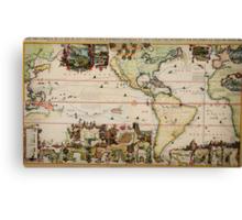 chatelain (america) The Dutch Beaver Derivative Canvas Print