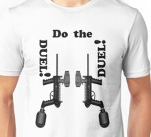 Paintball. Do the DUEL. BL. Unisex T-Shirt