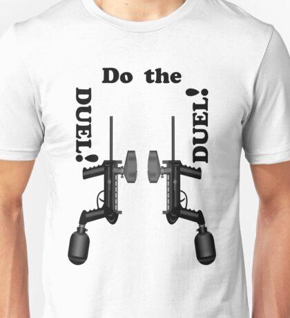 Paintball. Do the DUEL. BL. Unisex T-Shirt
