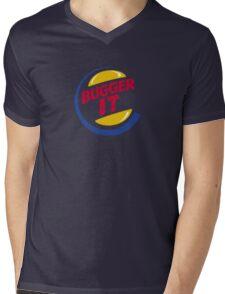Bugger It Mens V-Neck T-Shirt