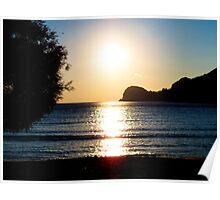 Syros Sunset Poster