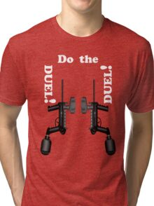 Paintball. Do the DUEL. WHI. Tri-blend T-Shirt