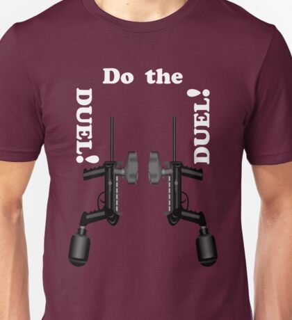 Paintball. Do the DUEL. WHI. Unisex T-Shirt