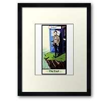 Eleventh Doctor- The Fool Framed Print