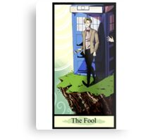 Eleventh Doctor- The Fool Metal Print