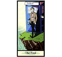 Eleventh Doctor- The Fool Photographic Print
