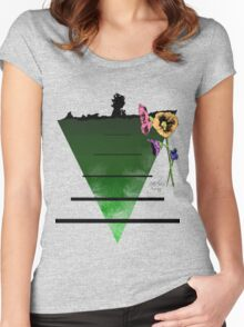 The Last Flowers of Winter Women's Fitted Scoop T-Shirt