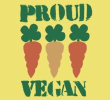 PROUD VEGAN by jazzydevil