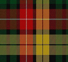 01806 Buchanan #7 Clan/Family Tartan Fabric Print Iphone Case by Detnecs2013
