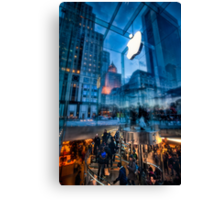 The Life below - 5th Ave Apple Store Canvas Print