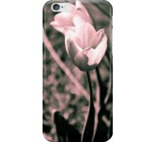 Split Tone Tulips iPhone Case/Skin