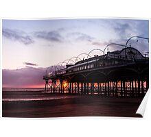 The Pavilion Sunrise Poster