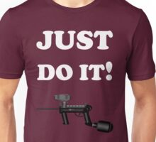 Paintball. Just Do It! Paintball. WHI. Unisex T-Shirt