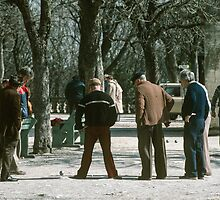 Uzes petanque 198403040019 by Fred Mitchell