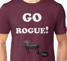 Paintball. Go Rogue. WHI. Unisex T-Shirt