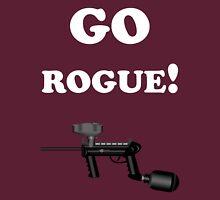 Paintball. Go Rogue. WHI. Unisex T-Shirt