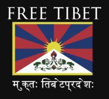 FREE TIBET by Yago