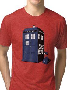 BAD SMEG HEAD Tri-blend T-Shirt
