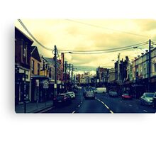 Inner City Suburb Canvas Print