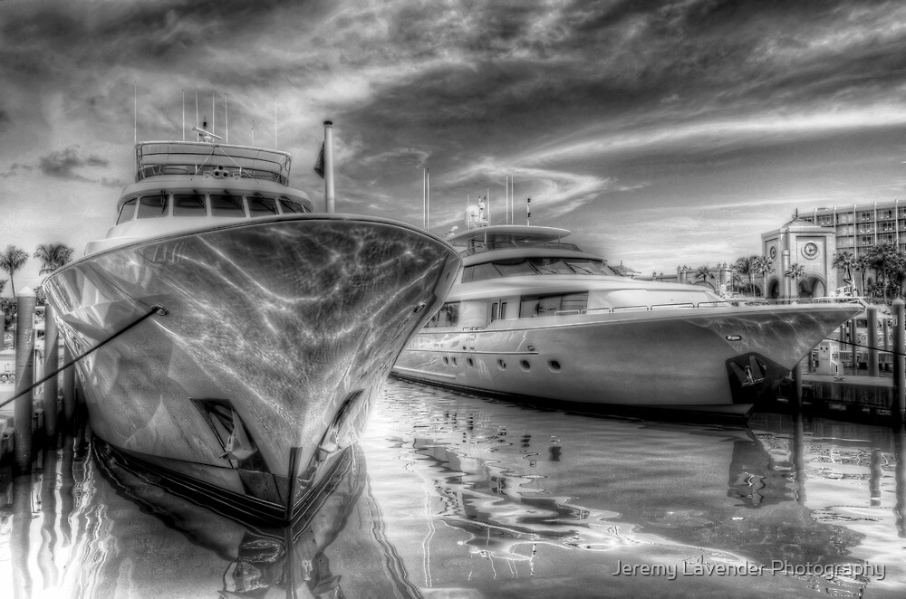 Atlantis Marina in Paradise Island, The Bahamas by Jeremy Lavender Photography