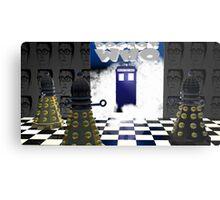 Doctor Who??? Metal Print