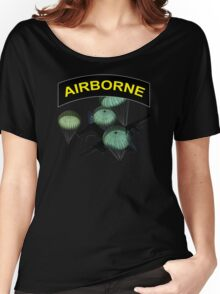 Airborne Paratrooper Drop Women's Relaxed Fit T-Shirt