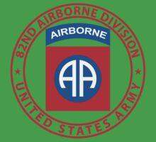 82nd Airborne Wings Kids Tee