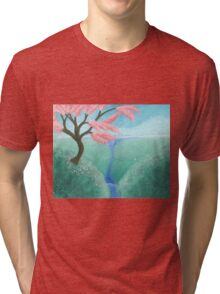Cherry Blossom Tree Tri-blend T-Shirt