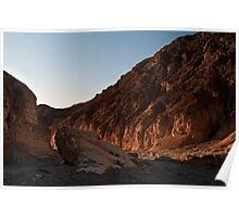 Mosaic Canyon Rocks - Death Valley N. P. Poster
