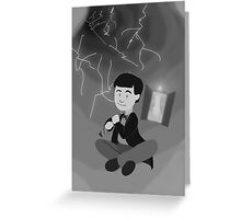 2nd Doctor in the Time Vortex Greeting Card