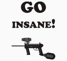 Paintball. Go Insane. BL. by DavidAtchley