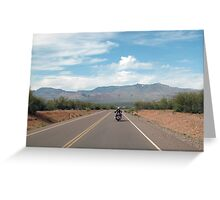 Arizona State Highway 88 Greeting Card