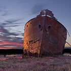 Excelsior Wreck by Peter Ede