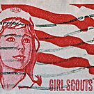1962 Girl Scouts Stamp by DrBillCreations