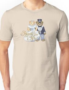 Teddy Bear Wedding Unisex T-Shirt