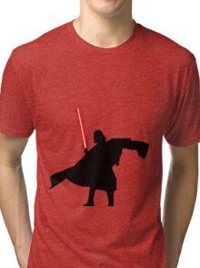 Darth Vader shadow style Tri-blend T-Shirt