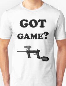 Paintball. Got Game? BL. Unisex T-Shirt