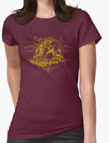 Spartan - Gold Womens Fitted T-Shirt
