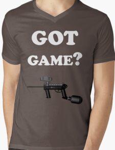 Paintball. Got Game? WHI. Mens V-Neck T-Shirt