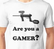 Paintball. Are You A Gamer? BL. Unisex T-Shirt