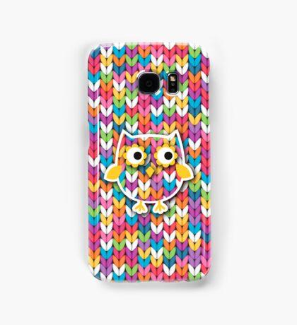 Knitted Owl Samsung Galaxy Case/Skin