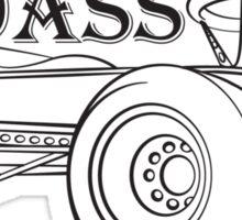 Backyard Badass Race Team Sticker