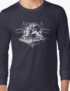 Spartan - White Long Sleeve T-Shirt