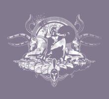 Spartan - White (Grunge Effect) Kids Clothes
