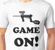 Paintball. Game ON. BL. Unisex T-Shirt
