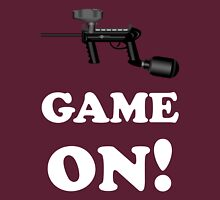Paintball. Game ON. WHI. Unisex T-Shirt