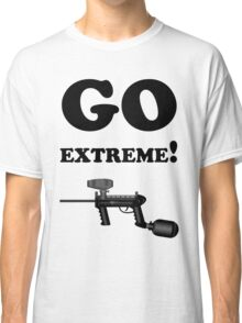 Paintball. Go Extreme. BL. Classic T-Shirt