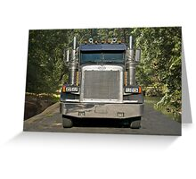 Logging Truck I Greeting Card