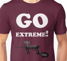 Paintball. Go Extreme. WHI. Unisex T-Shirt