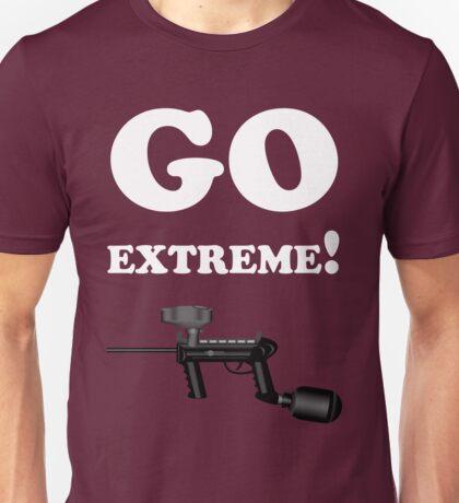 Paintball. Go Extreme. WHI. Unisex T-Shirt
